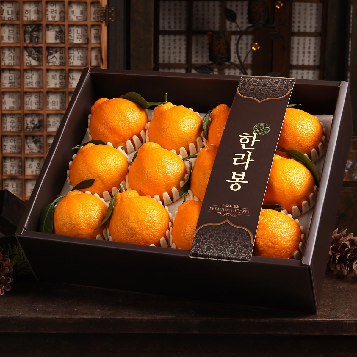 [선물세트] 정다운 한라봉세트3.4kg(12개입)이식사